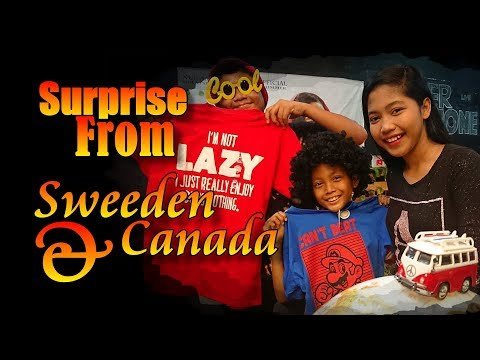 Surprise From Sweden & Canada  - Nur Amira Syahira