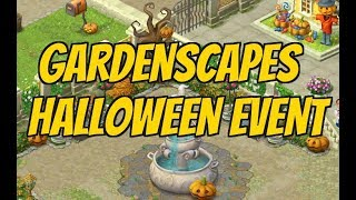 GARDENSCAPES NEW ACRES Gameplay Story Playthrough   Halloween Event with Working Hack