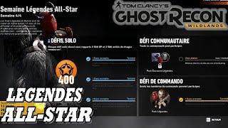 GHOST RECON WILDLANDS: Légendes All-Star - Défi Semaine 4: Predator, Yéti, Sam Fisher, Sorcières
