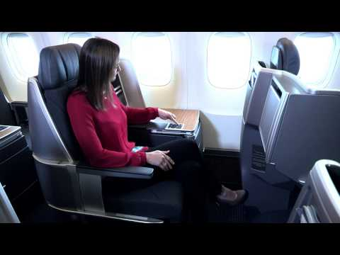 American Airlines Boeing 767 Business Class Seat