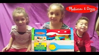 Melissa & Doug My Toolbox Toy Review