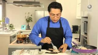Tu cocina - Chile pasilla relleno de camarones