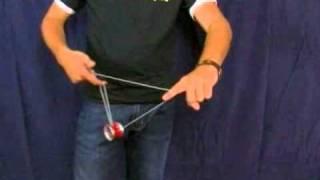 Смотреть онлайн Учимся играть с йо-йо: трюк Атомная бомба