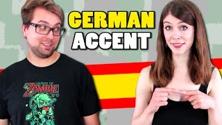 How to do a GERMAN ACCENT in SPANISH