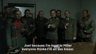 Goebbels rants about being called a Hitler ass kisser