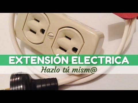 Como realizar una extensión eléctrica casera