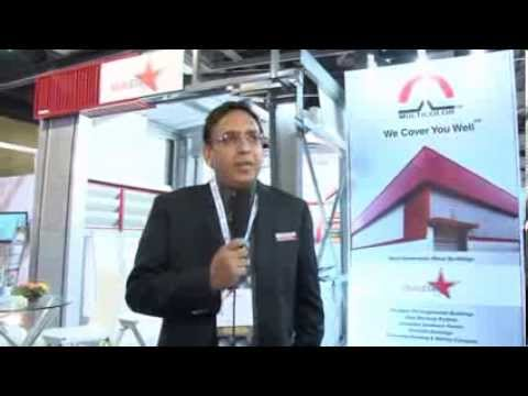 Multicolor Steels MD. Mr Rajesh Gupta at interview