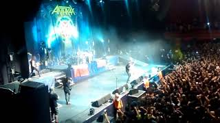 Anthrax Chile 2017 - Indians