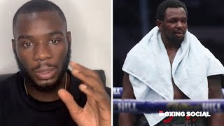 """DILLIAN WILL BE BACK STRONGER!"" CHRIS KONGO ON WIN OVER LUTHER CLAY/DILLIAN WHYTE LOSS TO POVETKIN"