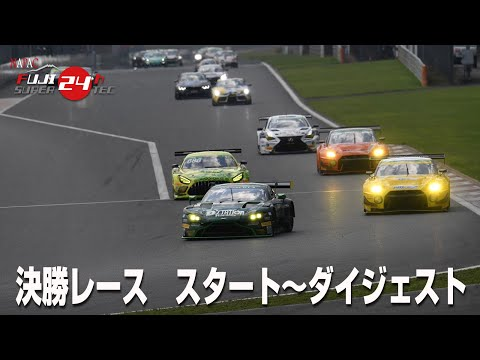 【S耐予選動画】スーパー耐久第1戦富士スピードウェイ S耐(24H)決勝レースの様子をまとめたダイジェスト映像