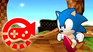 360° Video - Run With Sonic, Green Hill Zone