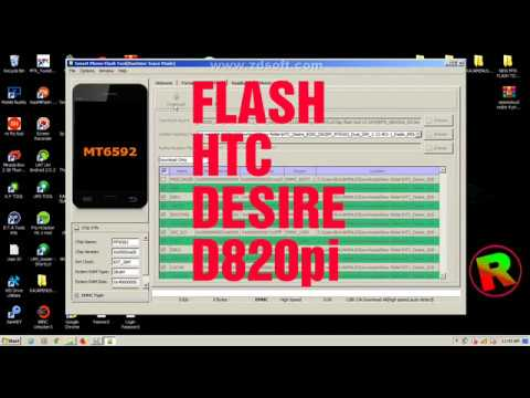 How To Flash Htc D820g D820pi With Sp Flash Tool