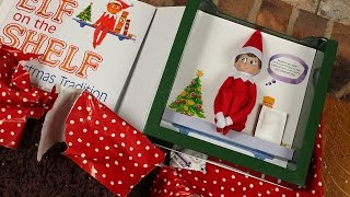 The Elf on the Shelf Arrived - Unboxing