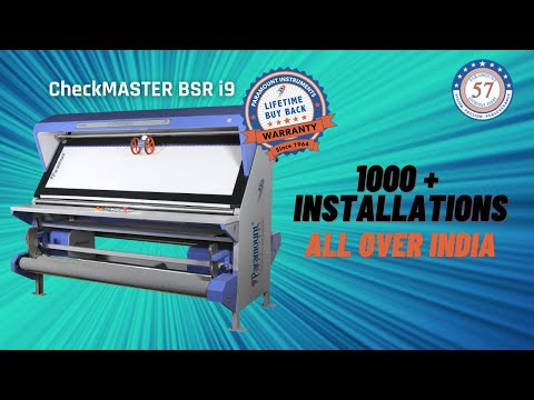 Check Master B PR I9 (Fabric Inspection With Batching & Perfect Rolling)