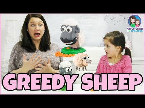 GREEDY SHEEP - Dem Schaf fliegt die Wolle weg! Geschichten und Spielzeug