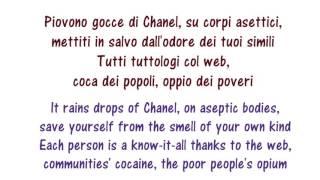 Francesco Gabbani - Occidentali's Karma Lyrics English and