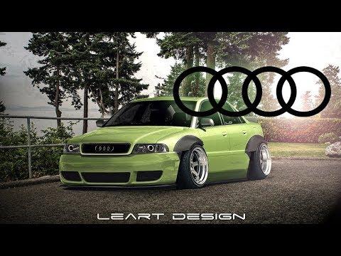Audi A4 [B5 Wide Body] Virtual Tuning Photoshop