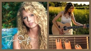 """❤ """"Picture to Burn"""" - Taylor Swift Guitar Lesson 