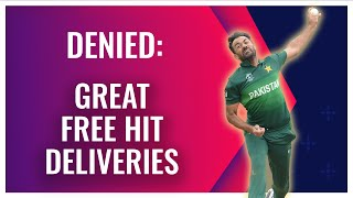 When bowlers boss batters | Free hit deliveries | Bowlers Month
