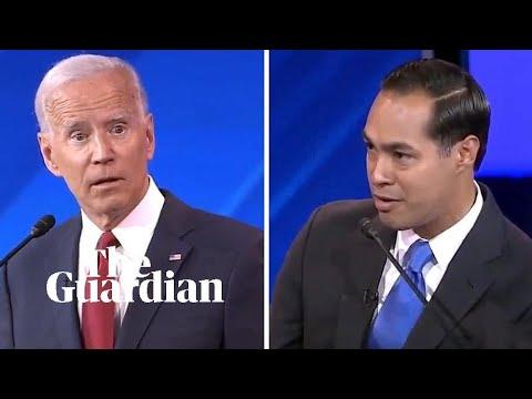 Castro questions Biden's memory during third Democrat debate