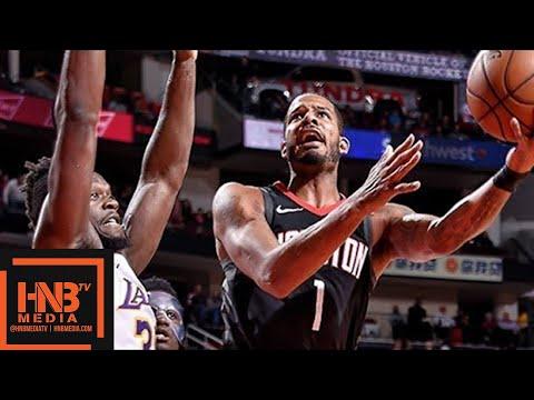 Los Angeles Lakers vs Houston Rockets Full Game Highlights / Dec 31 / 2017-18 NBA Season