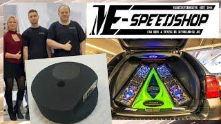 Axton Reserverad  AXB20STP Aktiv Subwoofer im Astra J ME-Speedshop by Autoradio-LL