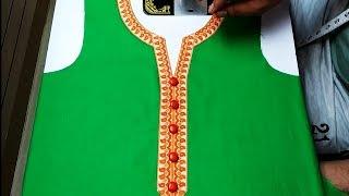 Simple Suit/Kameez Cutting Very Easy Method in Hindi - YouTube