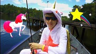 Unicorn Angler Vs. Texas Bass -- Lake X Fishing Pt. 2