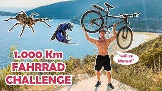 1000 Km Fahrradfahren Challenge (Wird schmerzhaft!)