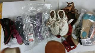 New shoes S mix - микс брендовой обуви лето сток 12.4кг 31 пара 16,2 евро/кг