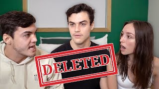 Arguing With My Twin's Girlfriend Prank | Dolan Twins Deleted Video