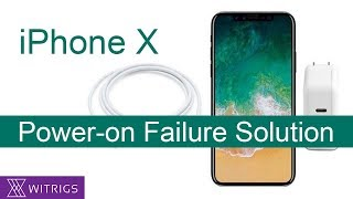 iPhone X Power-On Failure Solution | Motherboard Repair