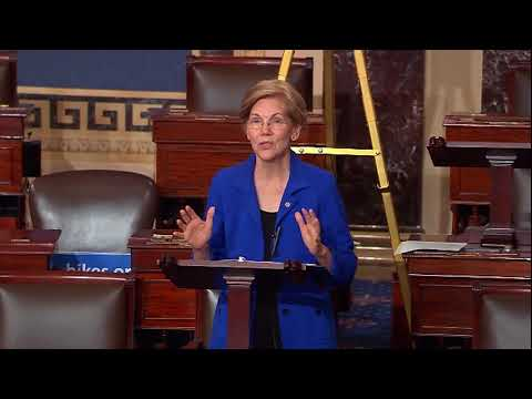Senator Elizabeth Warren's Floor Speech on the Republican Tax Bill