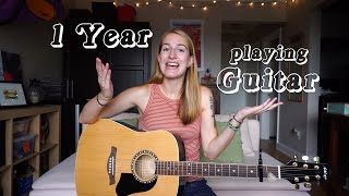 Learning How To Play Guitar Online - 1 Year Update