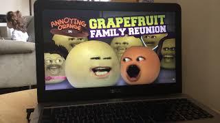 Annoying Orange   Grapefruit Family Reunion!