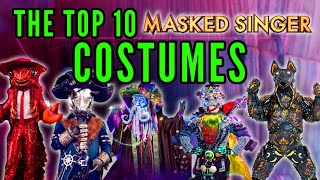 The Top 10 Masked Singer Costumes [From Around The World] - 10