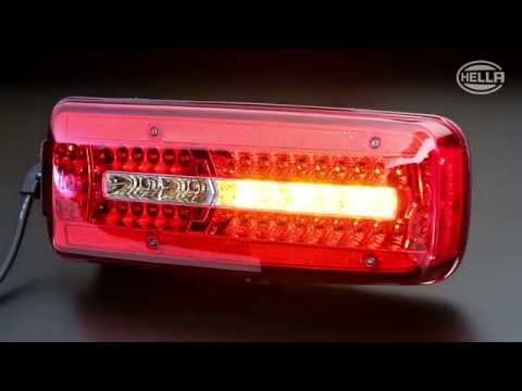 Voll-LED Truck-Heckleuchte
