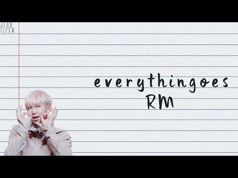 RM (김남준) - 지나가 Everythingoes (with NELL) [Lyrics Han|Rom|Eng Color Coded]