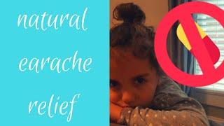DIY NATURAL EARACHE RELIEF|ESSENTIAL OILS