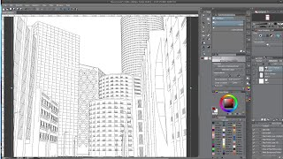Blender Freestyle for Background Line Art
