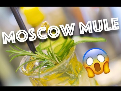 BEST MOSCOW MULE RECIPE! (VERY EASY TO MAKE)