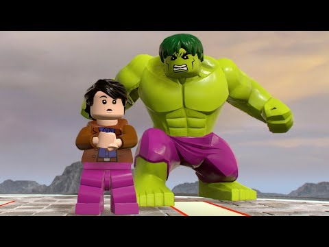 Lego Marvel Super Heroes 2 Walkthrough - Bruce Banner (Hulk
