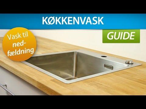 Kæmpestor GUIDE | Montering af køkkenvask (nedfældning) YW64