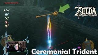 Finding the Ceremonial Trident (Zelda: Breath of the Wild)