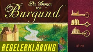 Die Burgen von Burgund - Regeln - Aufbau - Anleitung - Regelerklärung