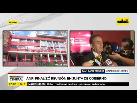 ANR: Finalizó reunión en junta de gobierno