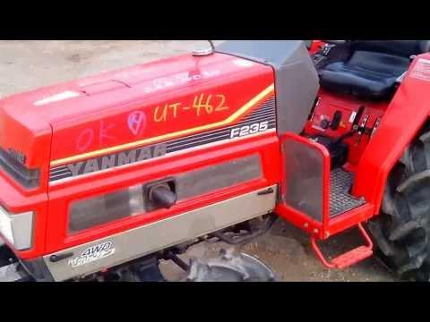 Japanese tractor Yanmar FX235D, www.jpstyle.ru