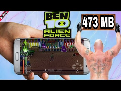 9 MB] How To Download Ben 10 Alien Force Game On Android
