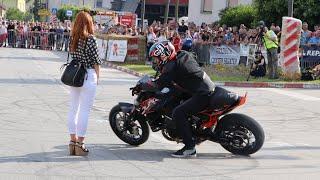 Rok Bagoroš stunt show v Središču ob Dravi