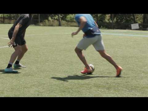 Jockey with Ball